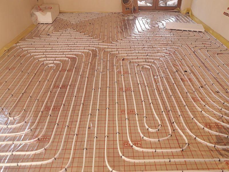 instalacje wewnętrzne ogrzewania podłogowego 1
